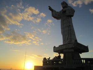 A 45 minute walk gets you up to the second largest Jesus statue in the world. Jesus overlooks the beautiful town of San Juan del Sur.