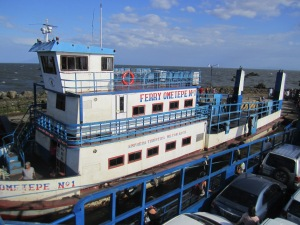 A picture of one of the ferries that transports you to Isla de Ometepe