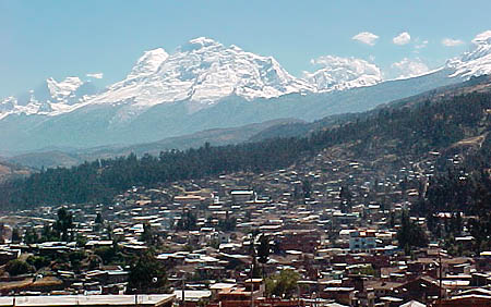 A great view to show just how  high up in the Andes this city is located. At just over 3000 metres this city still is home to close to 400,000 people.