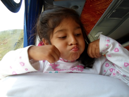Here is a picture of one of my biggest fans during my 6 hour bus ride from Chimbote to Huaraz. Her name was very appropriately Angela and anytime I tried to fall asleep she would grab my nose.