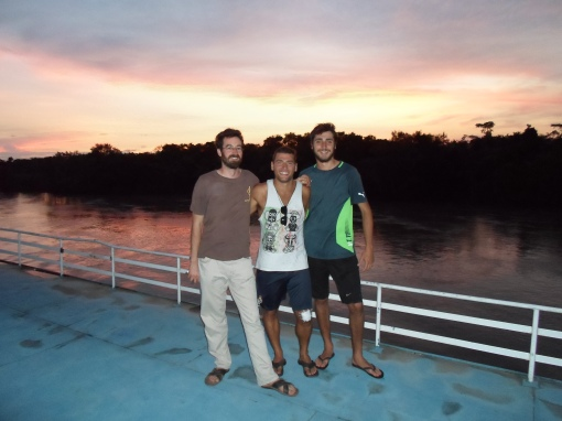 Another day further into the Amazon Jungle for Christian, Agustin, and myself.